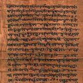 oude geschriften Atharvaveda foto geschrift nieuwsbrief mei 2016